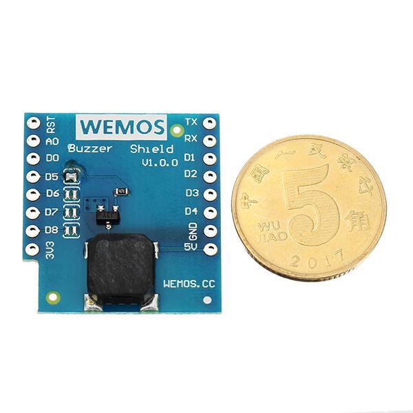 Wemos® Buzzer Shield V1.0.0 For WEMOS D1 Mini