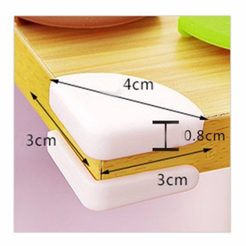 4pcs Anti Collision Glass Angle Guards Tea Table Crashproof Protection Corner Guards Cover Children Safety Supplies Protectors