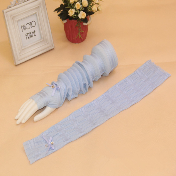 Women UV Sun Protection Driving Sleeves Gloves Summer Cycling Arm Sleeves Arm Cooling Gloves