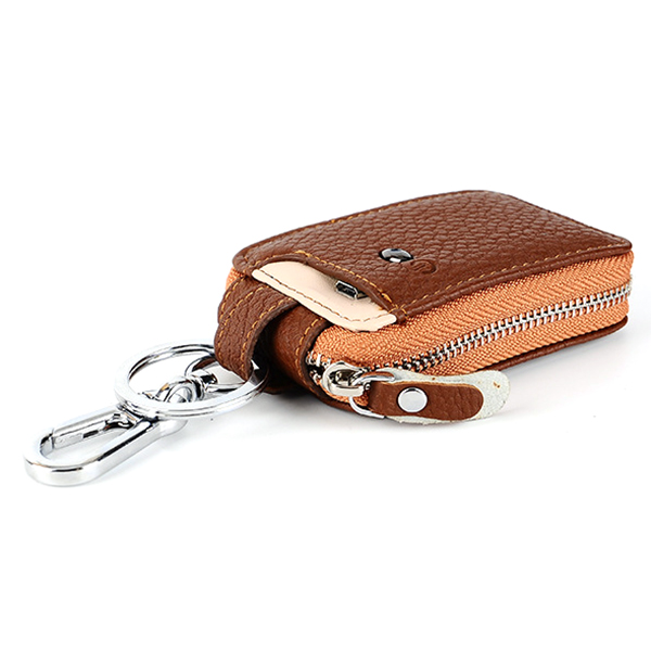 Multifunction Zipper Anti Lost Selfie Smart Car Key Bag