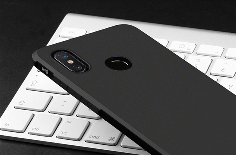 Bakeey Frosted Ultra Thin Shockproof Soft Silicone Protective Case For Xiaomi Mi8