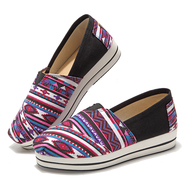 Women Casual Outdoor Canvas Flat Shoes