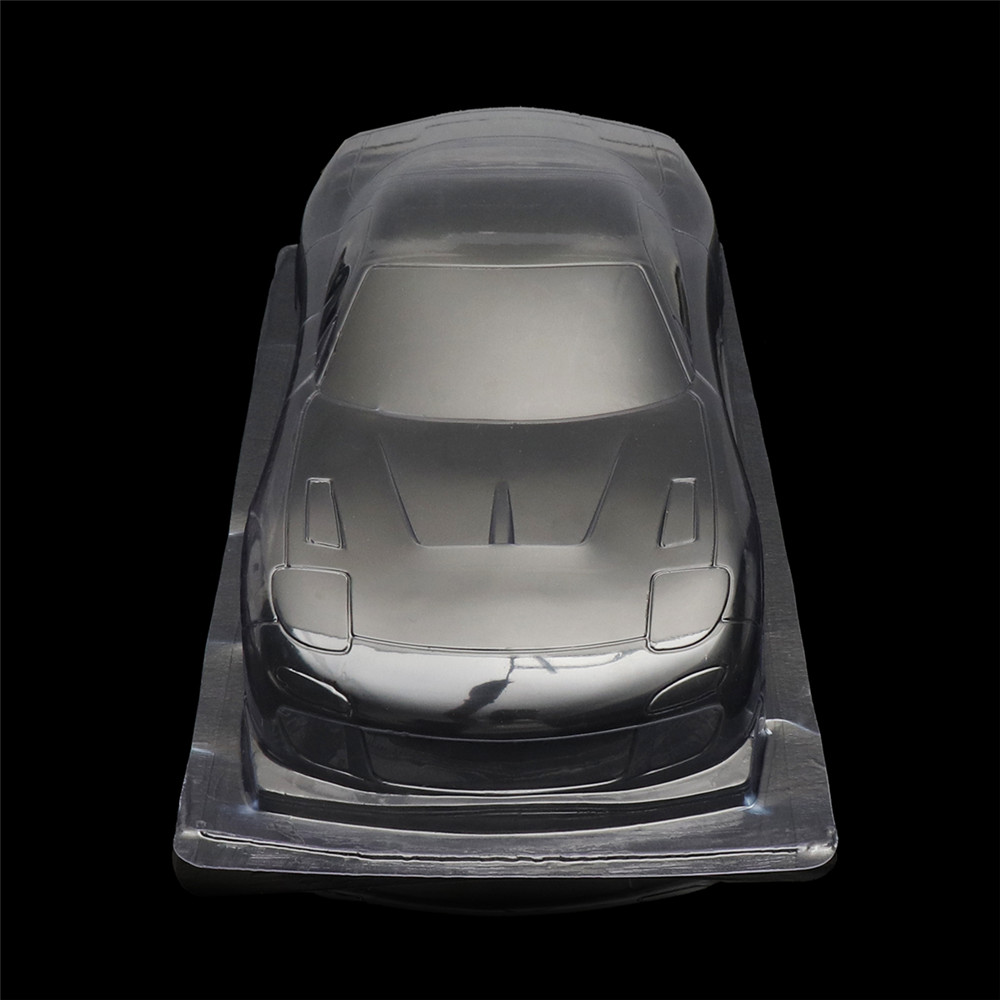 1/10 Unpainted Clear PVC RC Car Body Shell Mazda RX7 260mm Wheelbase for Tamiya YOKOMO HPI Chassis