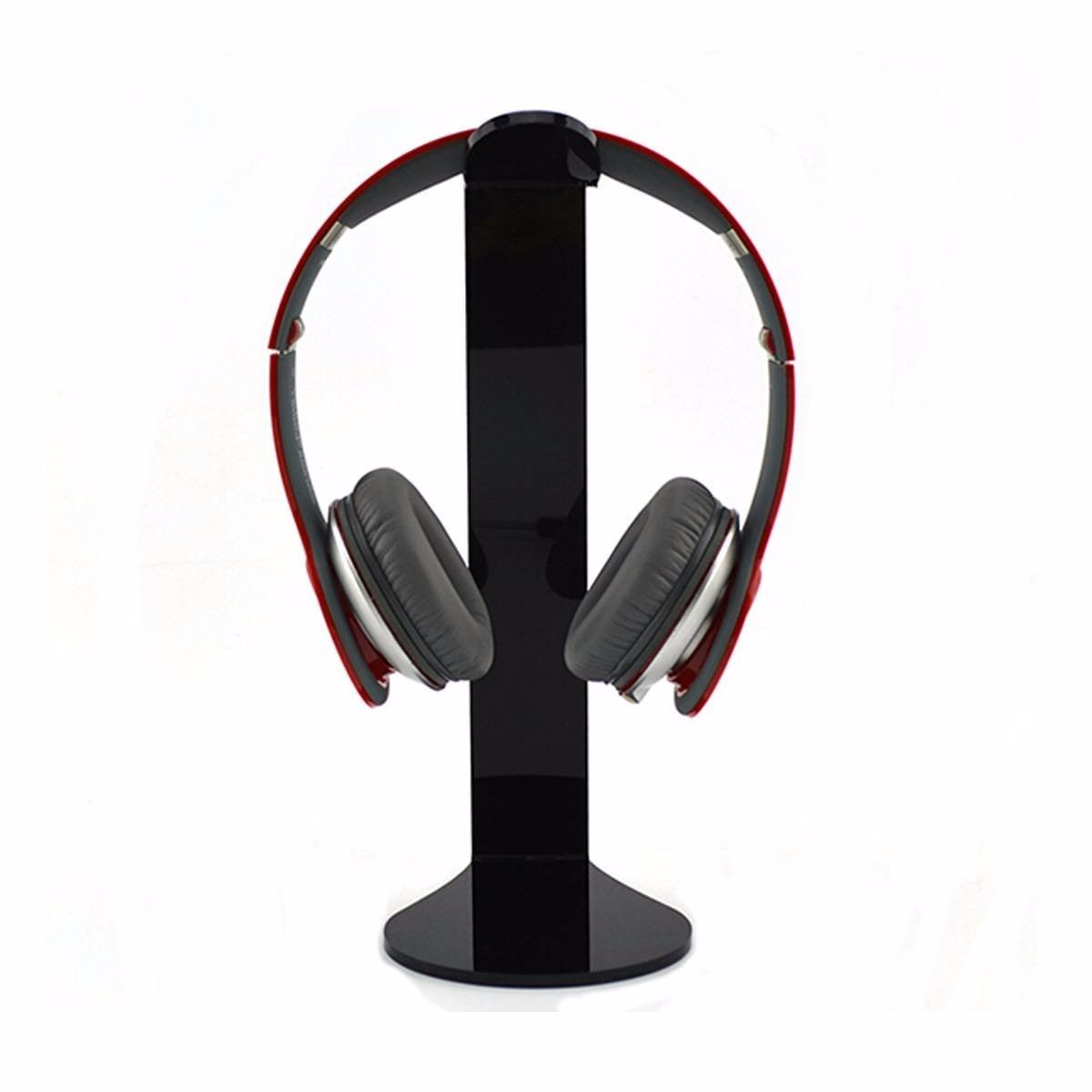 Universal Acrylic Headphone Stand Holder Earphone Headset Hanger Display Rack