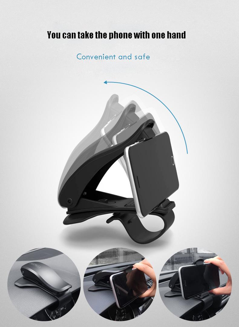 Bakeey ™ ATL-2 Противоюзовый 360 ° поворотный Авто-Держатель для приборной панели и телефонов как iPhone iPad Samsung GPS Смартфон