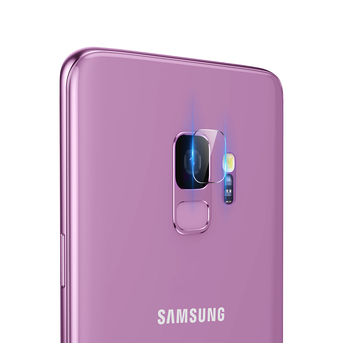Baseus Camera Lens Scratch Resistant Tempered Glass Protector for Samsung Galaxy S9