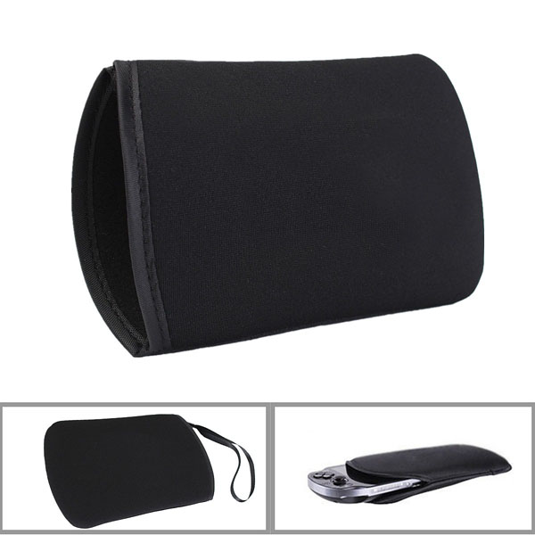 Black Soft Cloth Carry Case Cover Protective Pouch Bag for New Nintendo 3DSLL/XL