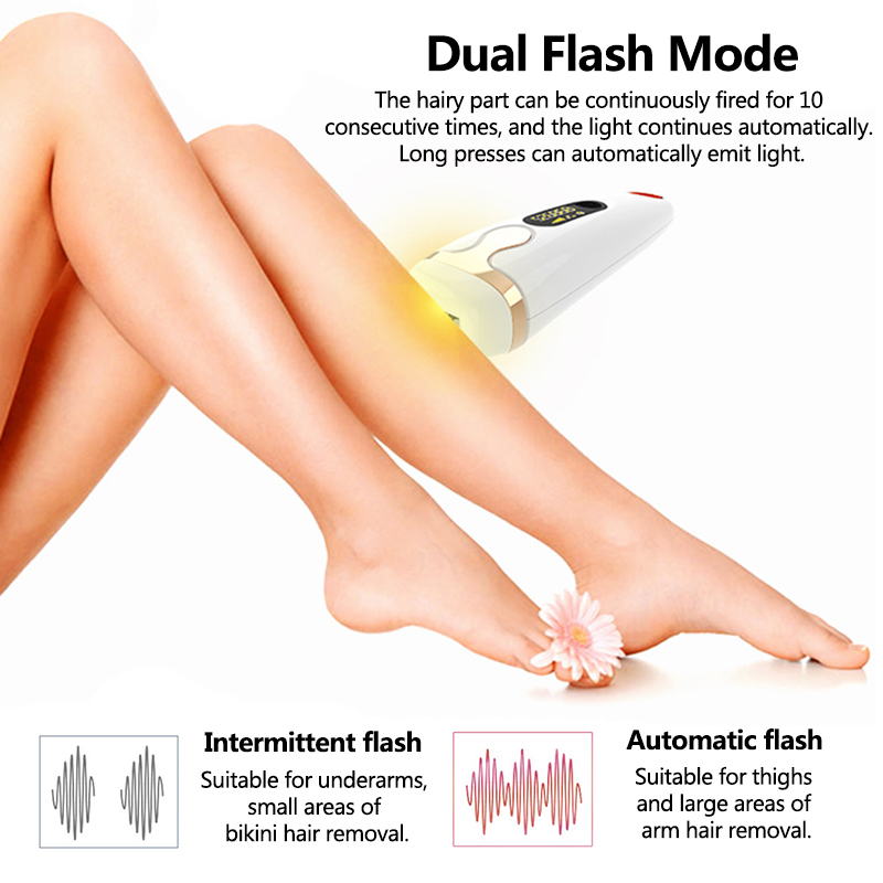 Laser Epilator IPL Hair Removal Machine Painless Epilator