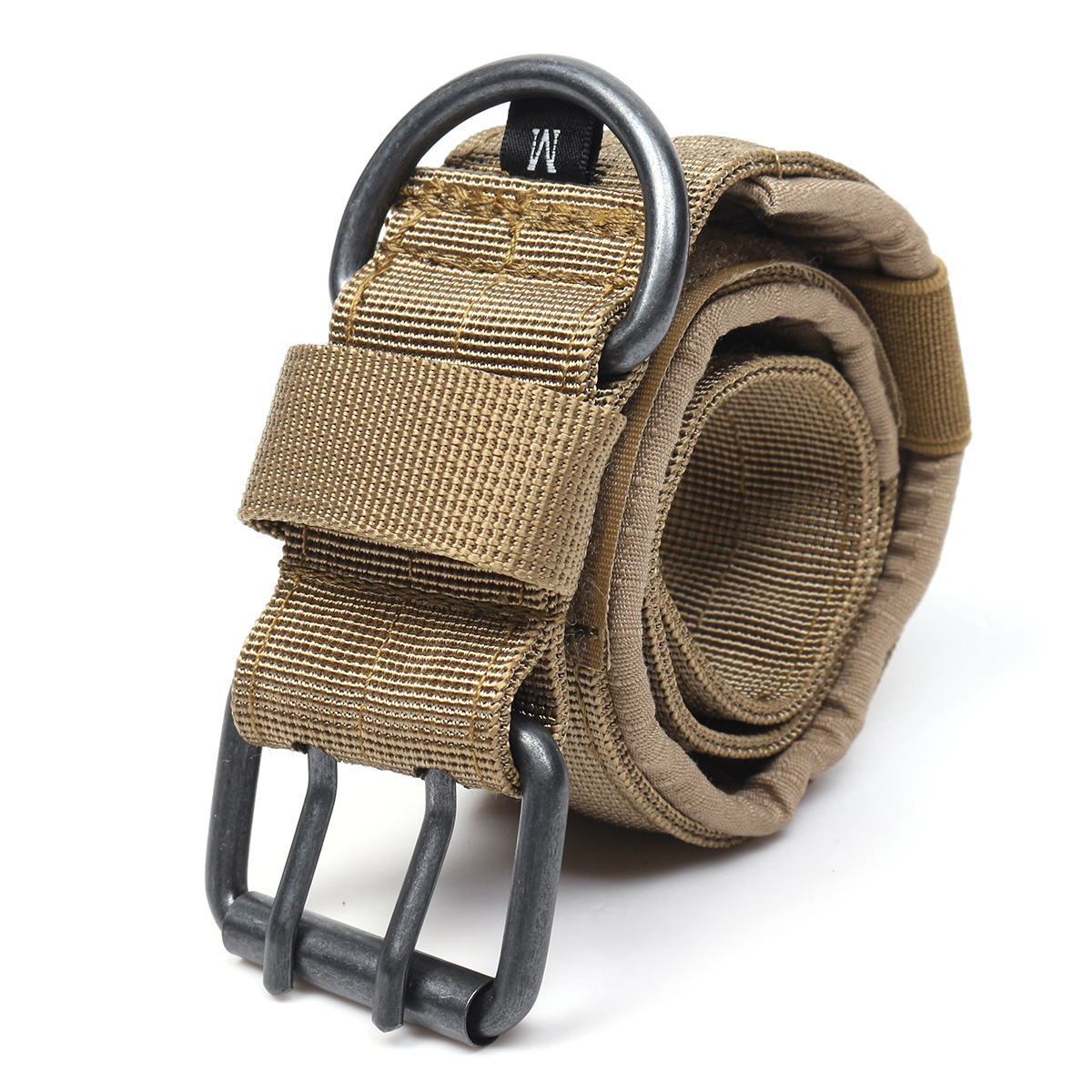 Adjustable Training Dog Collar Nylon Tactical Dog Collar Military With Metal D Ring Buckle