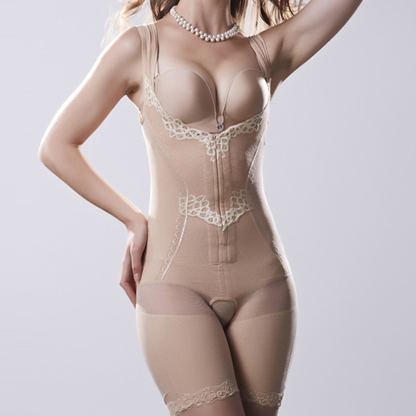 Breathable Belly Hip Lifting Bodysuit Shapewear