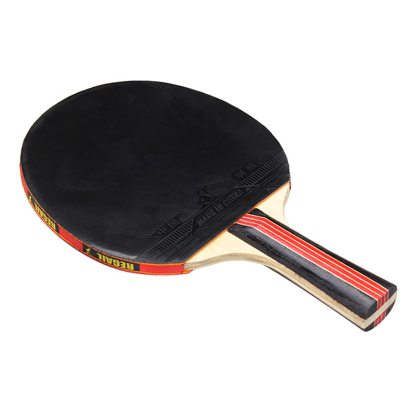 Long Handle And Short Handle Table Tennis Racket High Quality Raw Rubber Racket