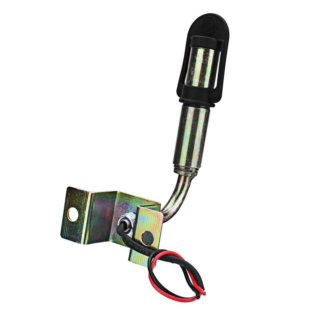 DIN Beacon Threaded Mounting Pole Stem for Flashing Rotating Warning Light Amber Work Light