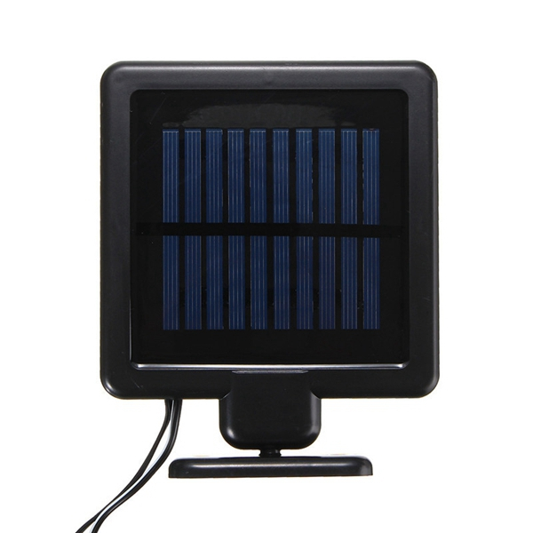 Solar Powered 10 LED Wall Light Waterproof Garden Fence Lamp Outdoor Lamp