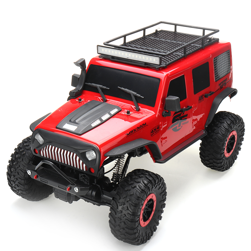 Wltoys 104311 1/10 2.4G 4X4 Crawler RC Car Desert Mountain Rock Vehicle Models With Two Motors LED Head Light Two Battery - Photo: 6