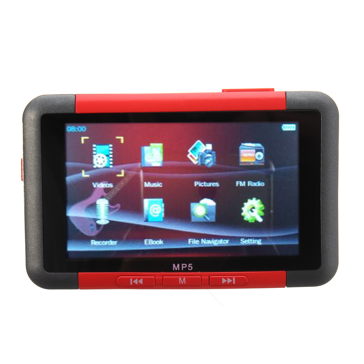 3 Inch Slim LCD Video Music Media Player 16GB FM Radio Recorder MP5