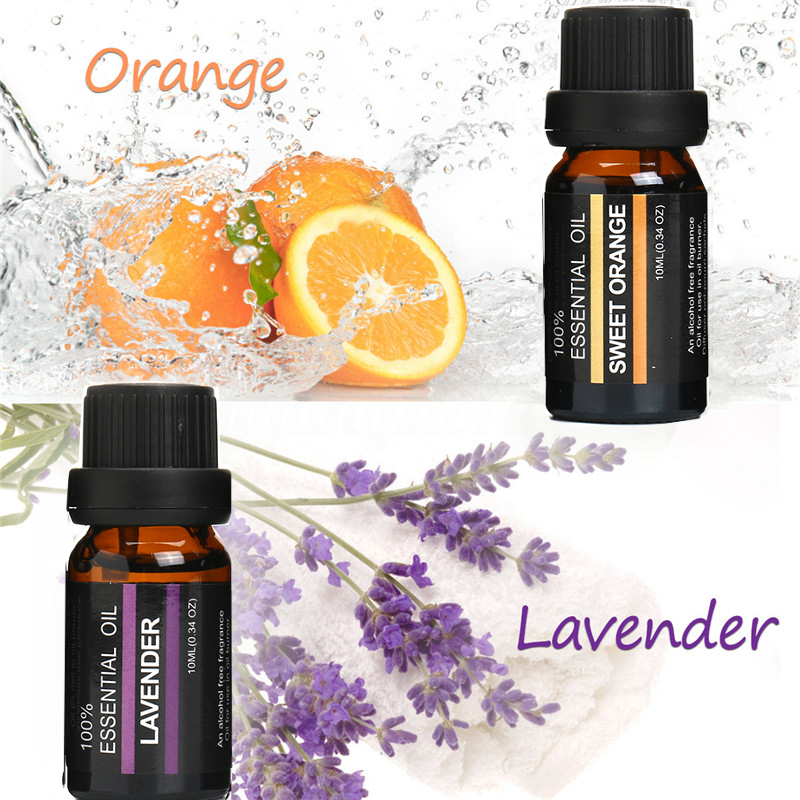 RHJY 6Pcs Pure Aromatherapy Essential Oils