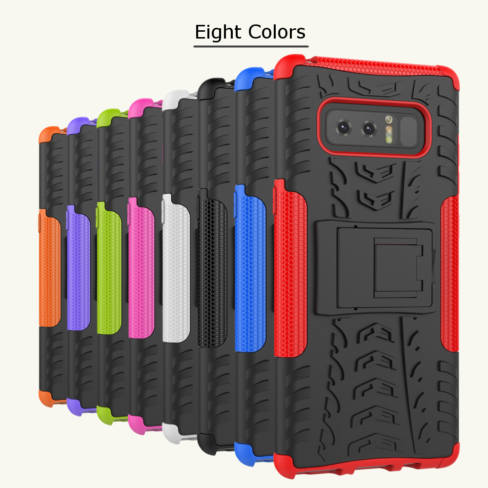 Bakeey™ 2 in 1 Armor Kickstand TPU PC Case Caver for Samsung Galaxy Note 8