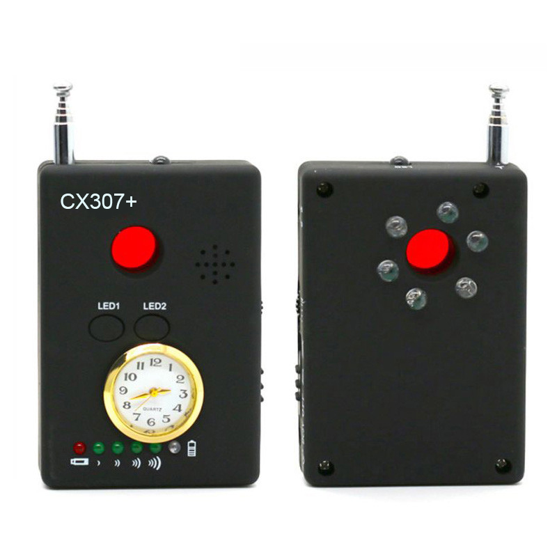 XANES CX307+ Full Range Wireless Signal Detector Bug RF Detector Sport Camera Lens