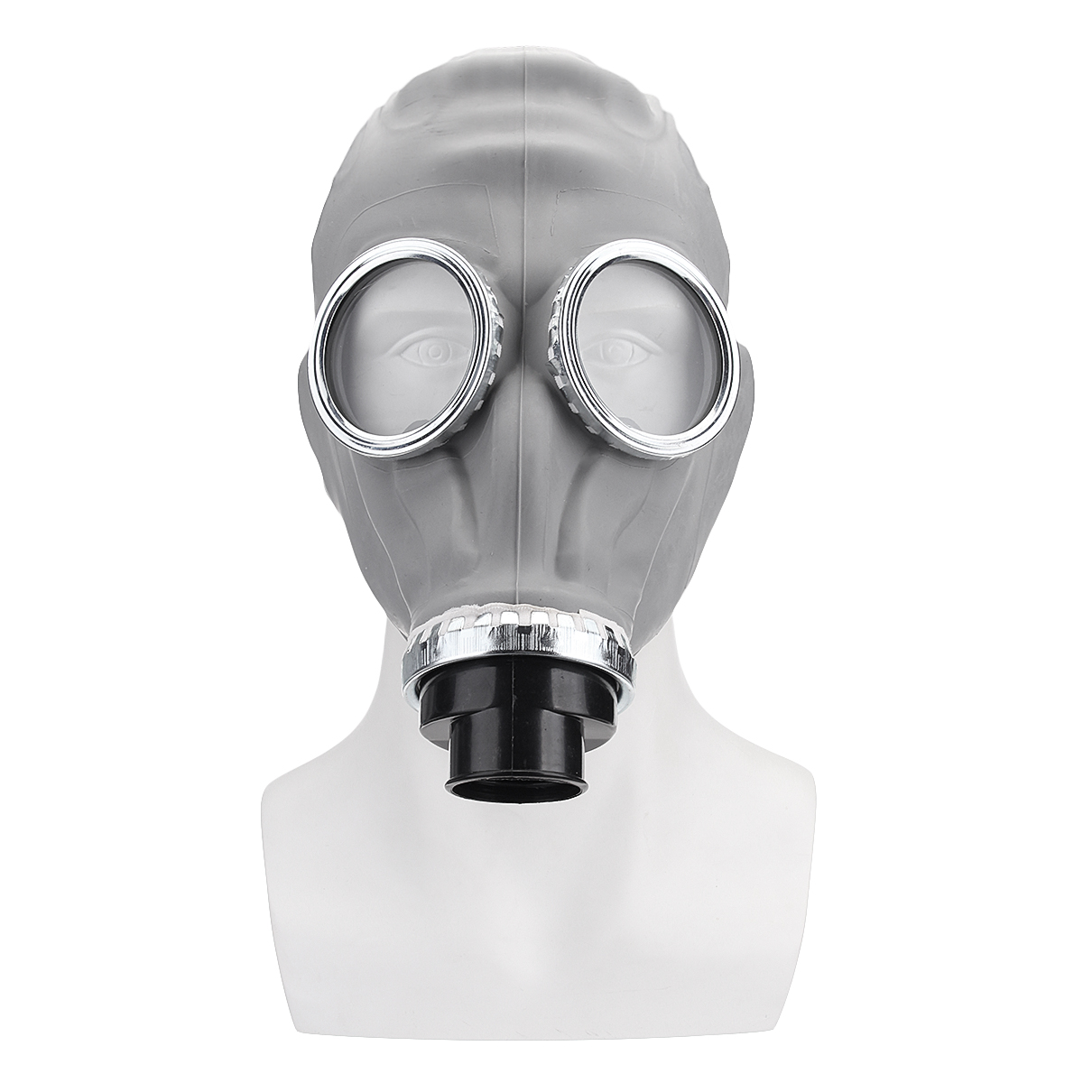 Medical Silicone Full Face Gas Mask Chemical Painting Welding Security Protection Mask