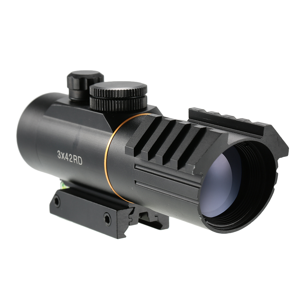 AURKTECH Hunting 5 Level Tactical 3X42 Red Dot Sight S