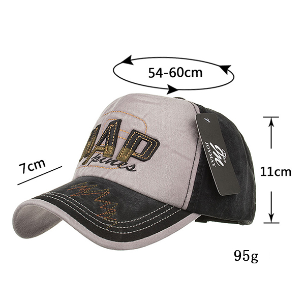 Men Women Embroidery Sport Sunshade Visor Hat