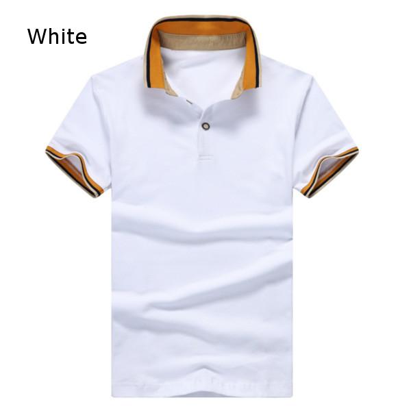 Mens Casual Short Sleeved Golf Shirt