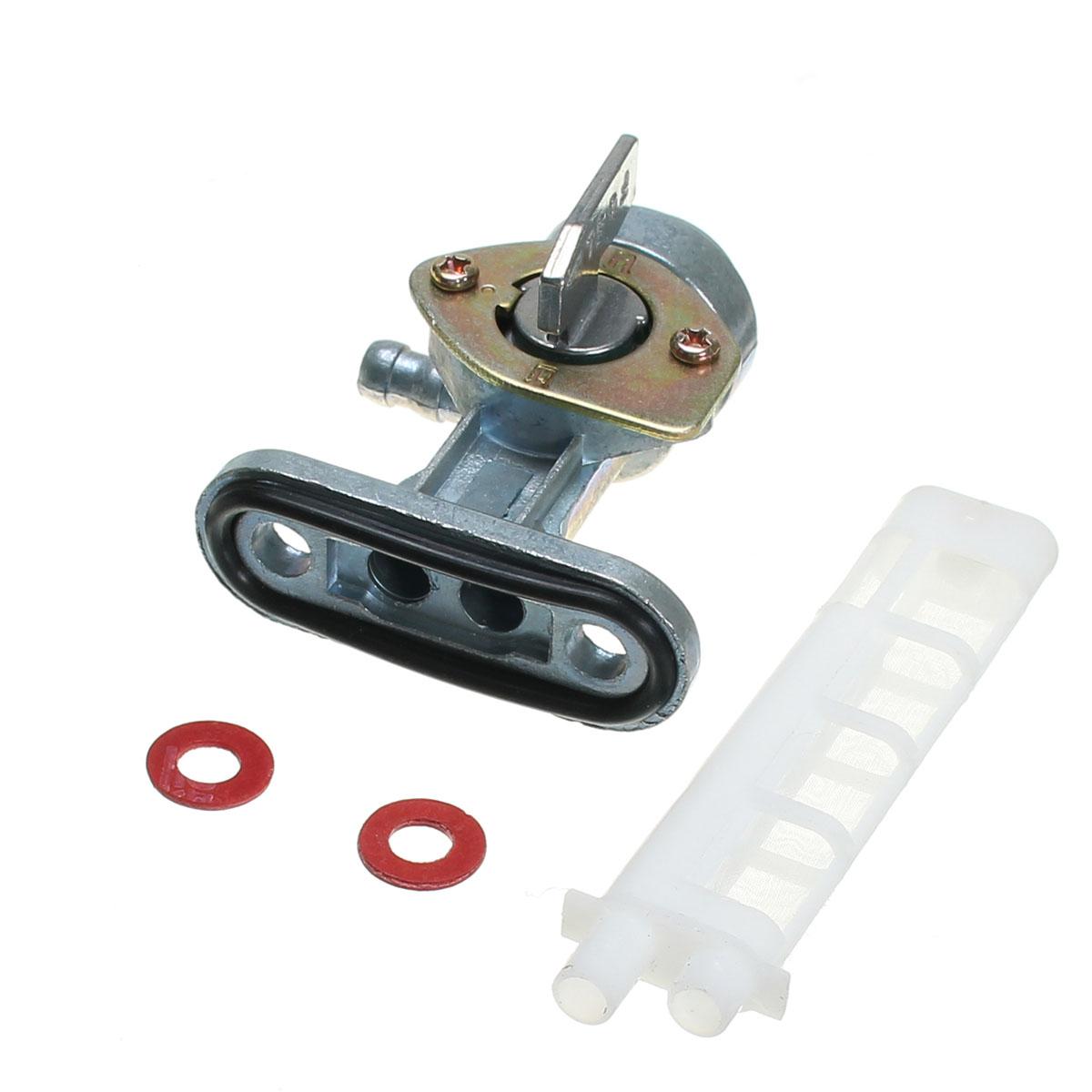 34mm Gas Petcock Fuel Tap Valve Switch Pump For Yamaha/Suzuki/Honda/Kawasaki