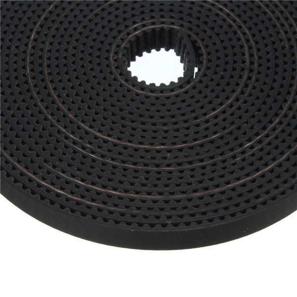 3M GT2 Timing Belt and 2pcs GT2 Timing Pulley 16T Bore 5mm Pulley