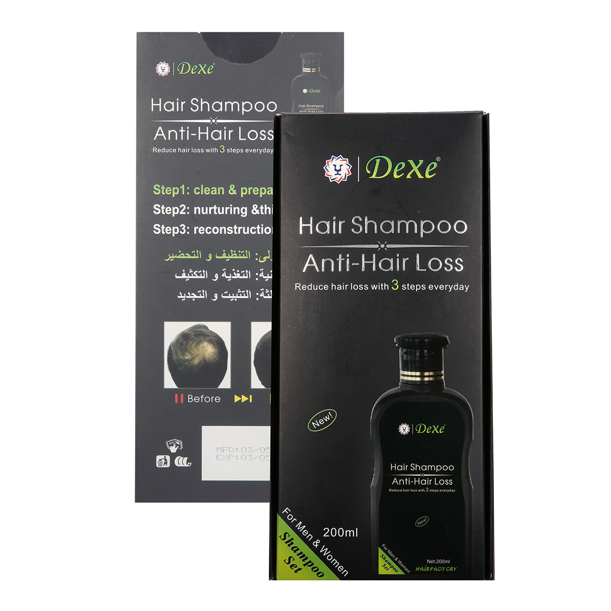 DEXE Anti-Hair Loss Hair Growth Shampoo