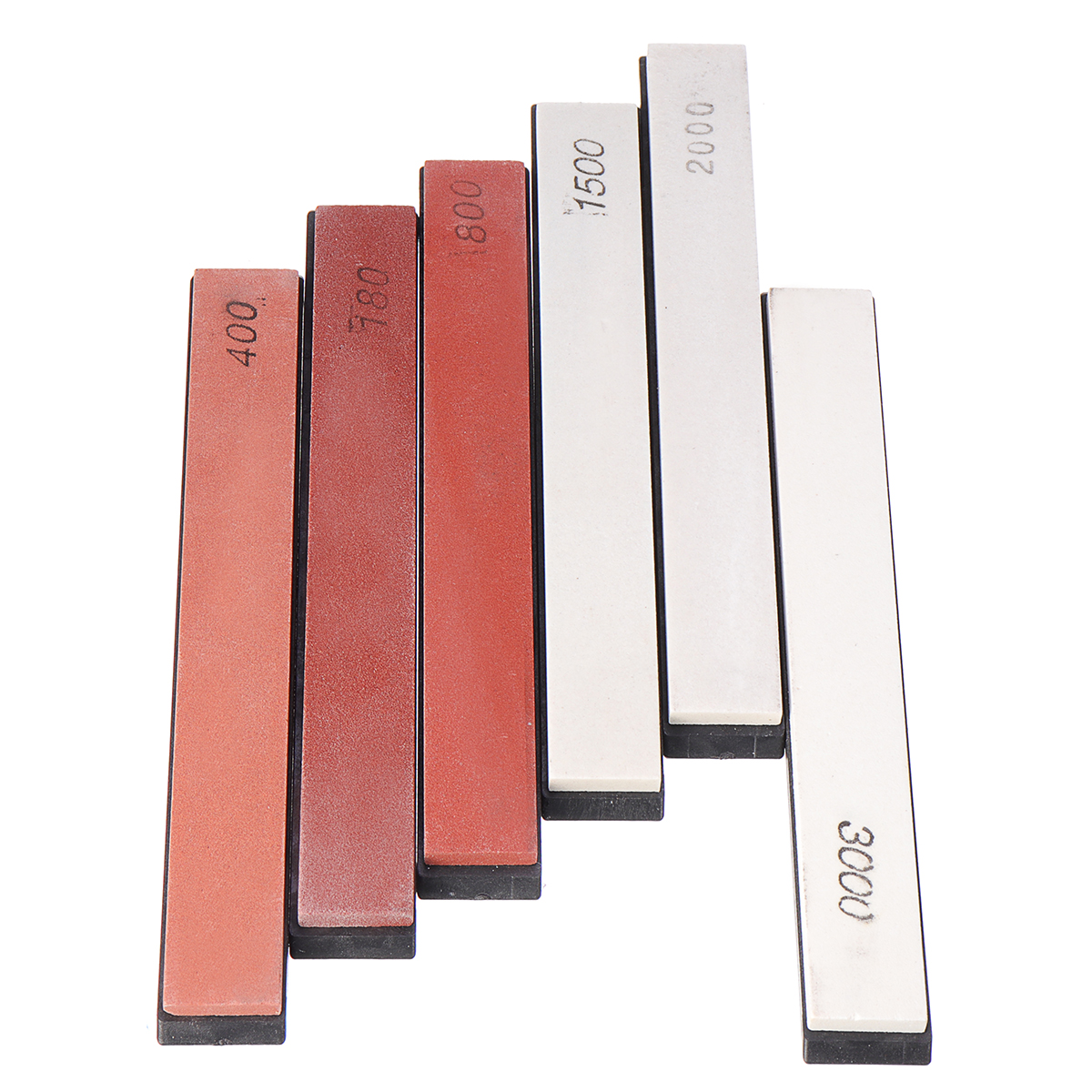 6 Pcs Sharpening Stone Set Whetstone Set Oilstone Grindstone Polishing Sharpener Sander