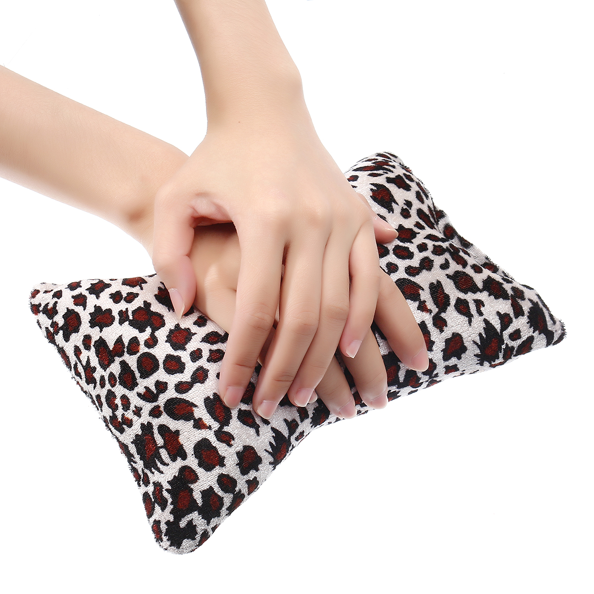 Soft Nail Art Hand Pillow Mini Bone Shape Flannel Sponge Manicure Hand Arm Rests Cushion Tool