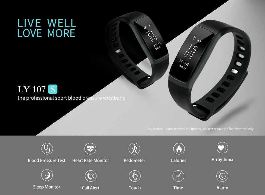 k18s heart rate bracelet instructions