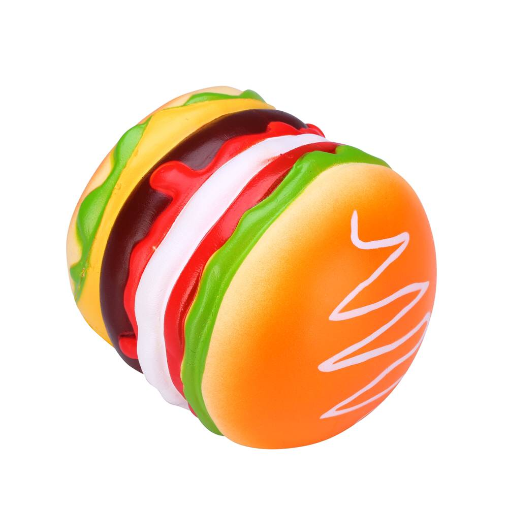 Vlampo Squishy Burger Hamburger Licensed Slow Rising Original Box Packaging Bread Collection Toy Decor Gift