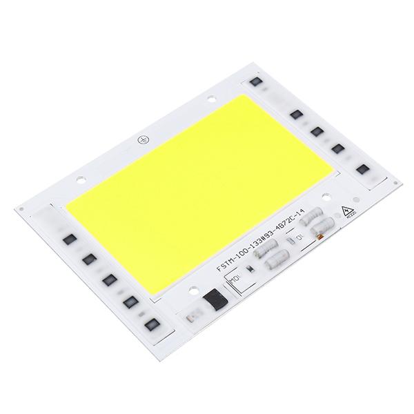 AC220V 100W Integrated COB LED Smart IC Lamp Chip for DIY Floodlight Spotlight