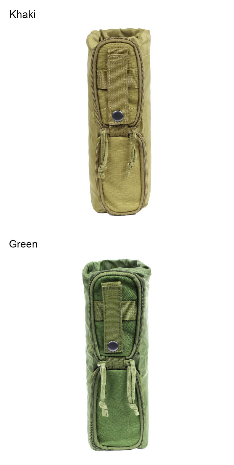 Camping Tactical Water Bottle Bag Hunting Accessory Storage Pouch Molle EDC Pack