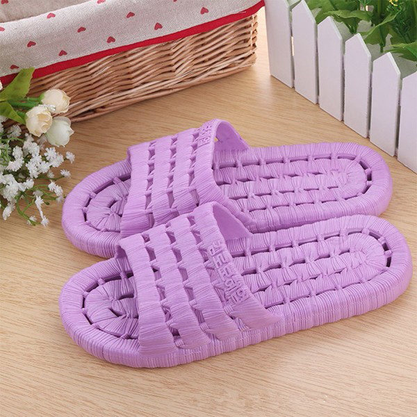 Women Leisure Slippers Candy Color Indoor Shoes Breathable Home Shoes