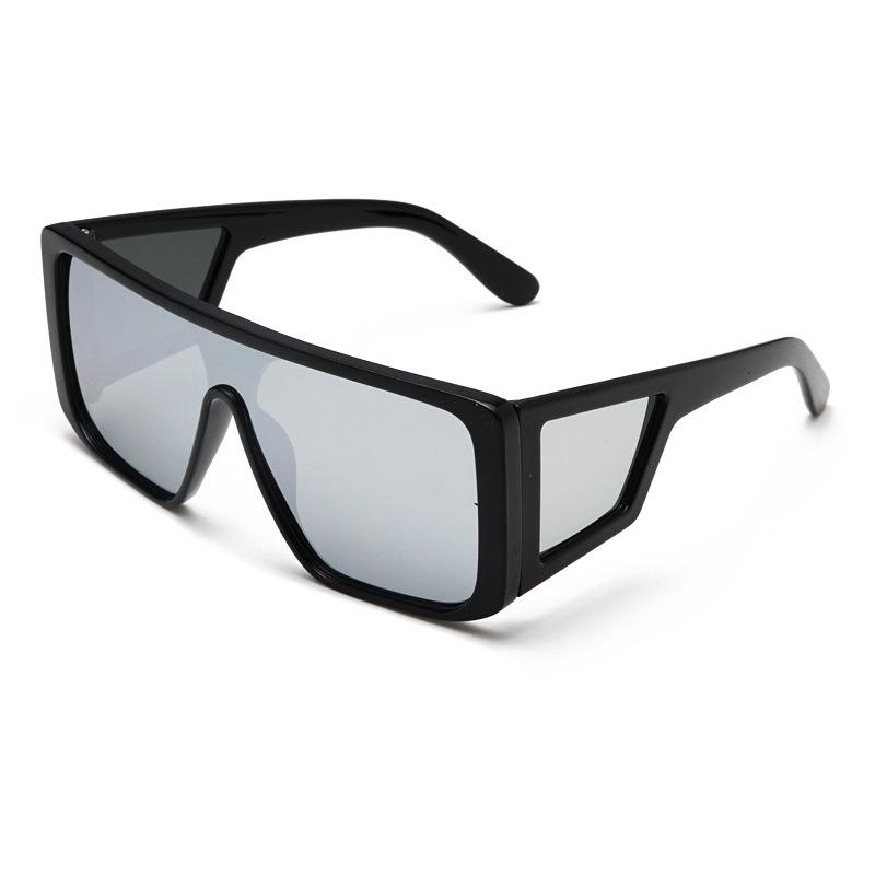 Unisex Vogue Four Lens Windshield Anti-UV Sunglasses