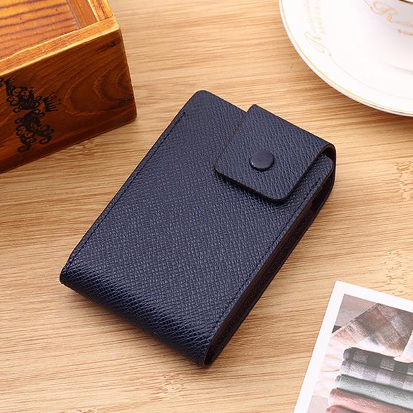 Men Faux Leather 10 Card Slots Coins Bag Wallet
