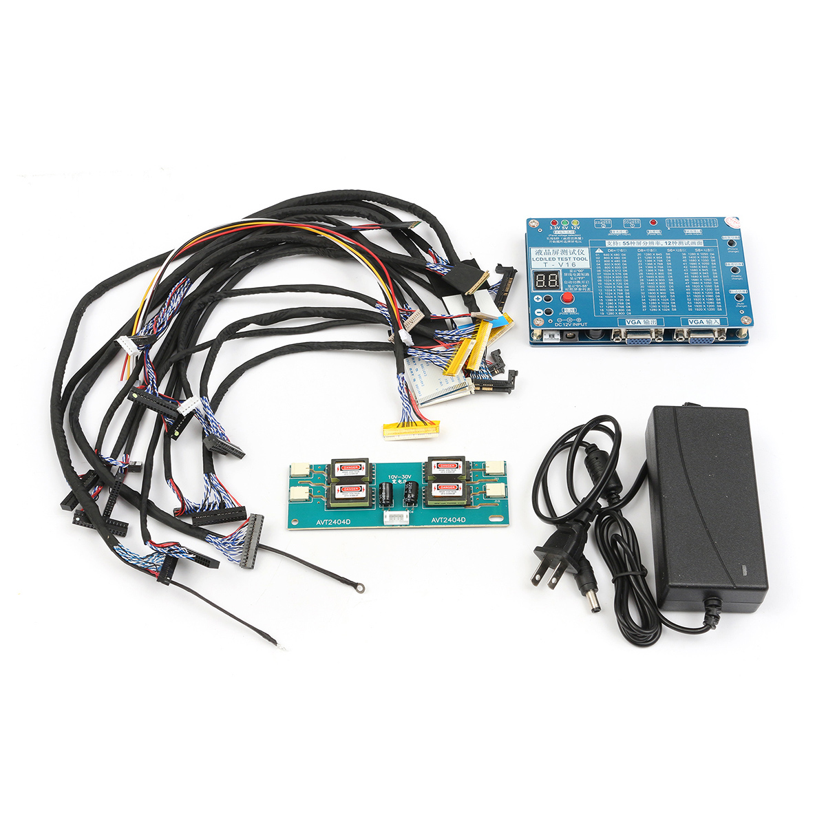 7 84inch Lvds Screen Lcd Led Panel Tester For Tv Laptop 55 Samsung Wiring Diagram Computer Repair
