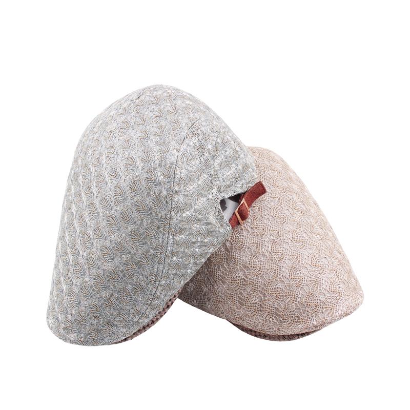Women Mesh Gauze Painter Beret Caps Flat Gatsby Newsboy Hat