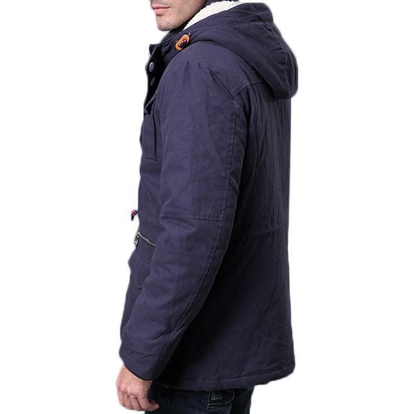 Mens Winter Cotton Plus Thick Warm Hooded Parka Outwear Jacket