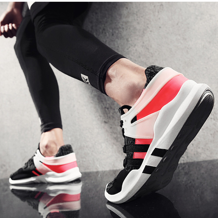 New Men's Casual Sports Shoes Breathable Soft Athletic Sneakers Running Shoes