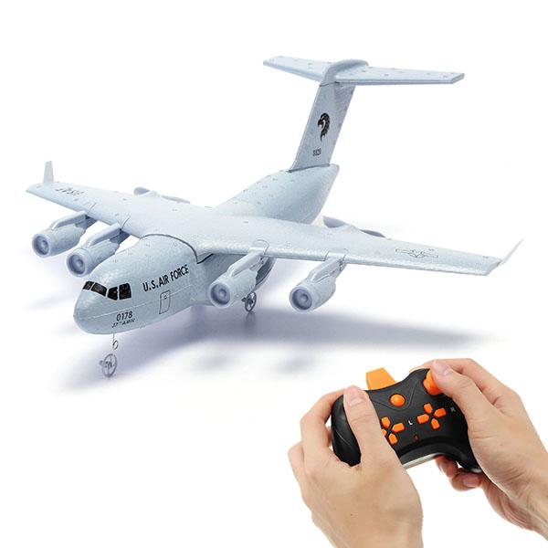 Купить со скидкой C17 C-17 Transport 373mm Wingspan EPP DIY RC Airplane RTF