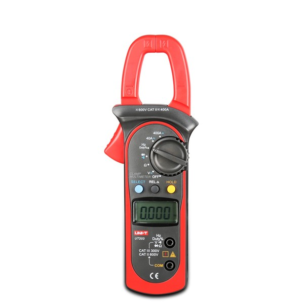 UNI-T UT203 Digital Clamp Multimeter DC AC Current Volt