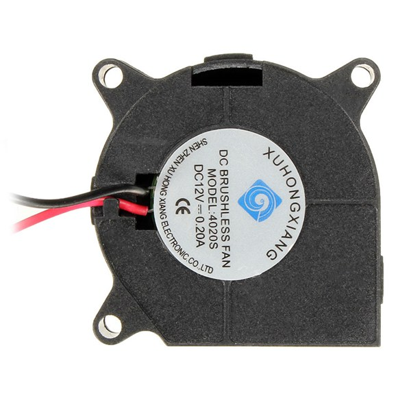 12V DC Blow Radial Cooling Fan For RepRap 3D Printer Hotend Extruder