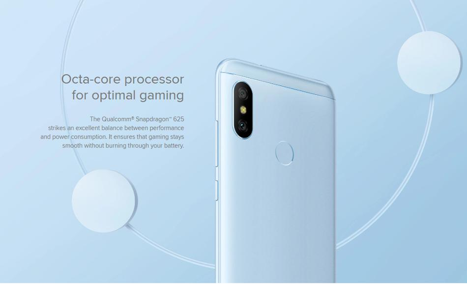 Xiaomi Mi A2 Lite Global Version 5.84 inch 3GB RAM 32GB ROM Snapdragon 625 Octa core 4G Smartphone