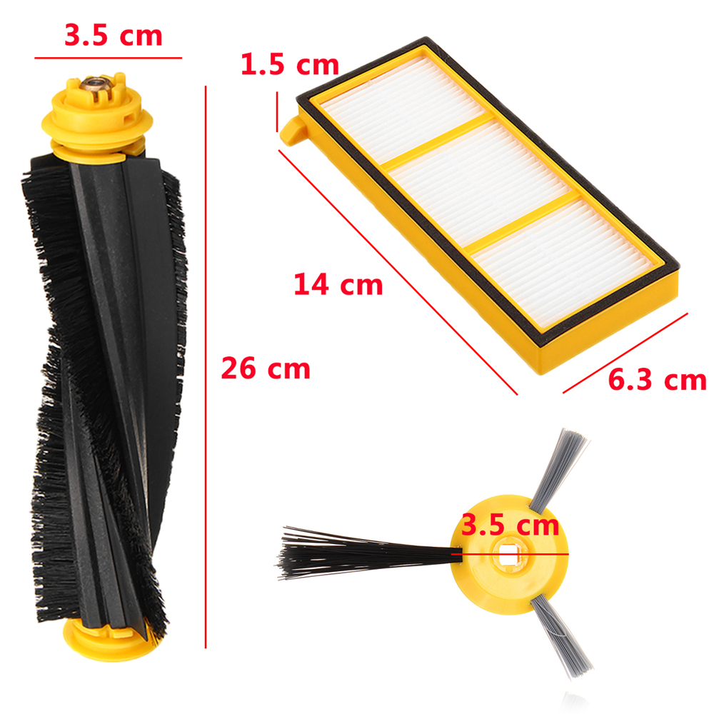 Accessories For Shark Ion Robot Replacement Filter Side