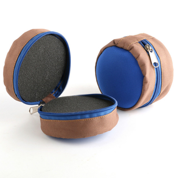 MAXCATCH 105*105*80MM Zippered Fly Reel Pouch Fishing