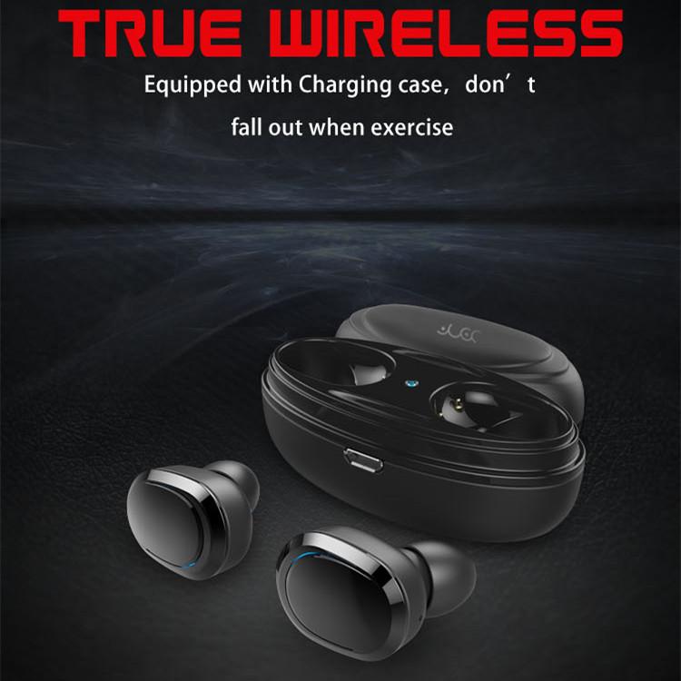 [True Wireless] Bakeey™ T12 TWS Double bluetooth Earphones Stereo Headphone with Charging Box