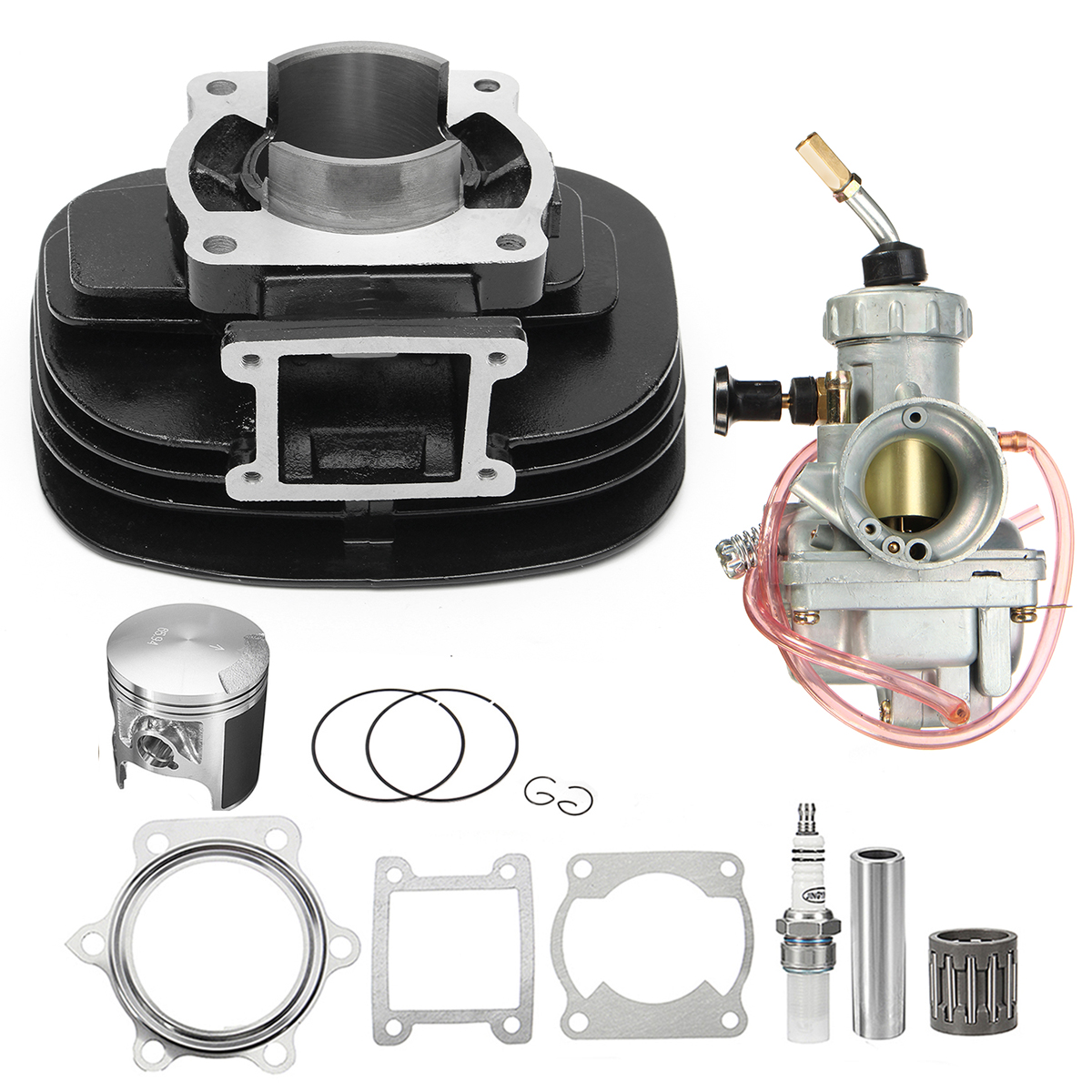Cylinder Carburetor Carb Piston Gasket Top End Kit For Yamaha YFS200 Blaster 200
